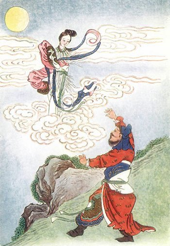 leyendas chinas change y hou yi