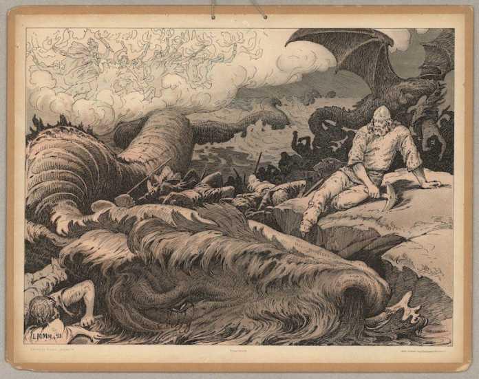 Jörmundgander mitologia nordica