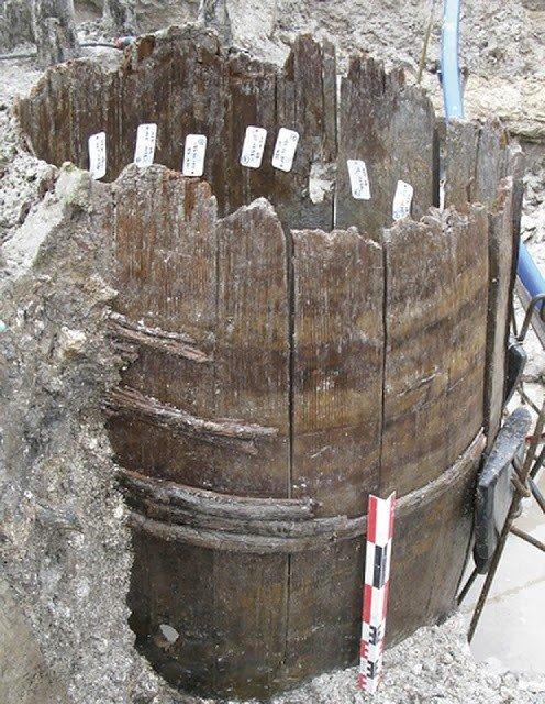 barril de vino epoca romana