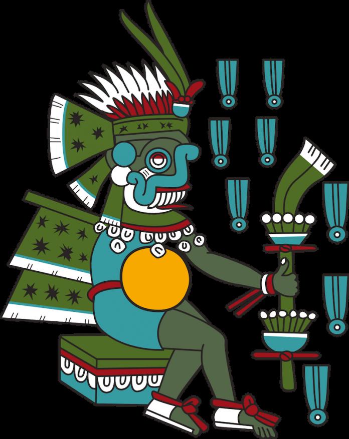 tlaloc mitologia azteca