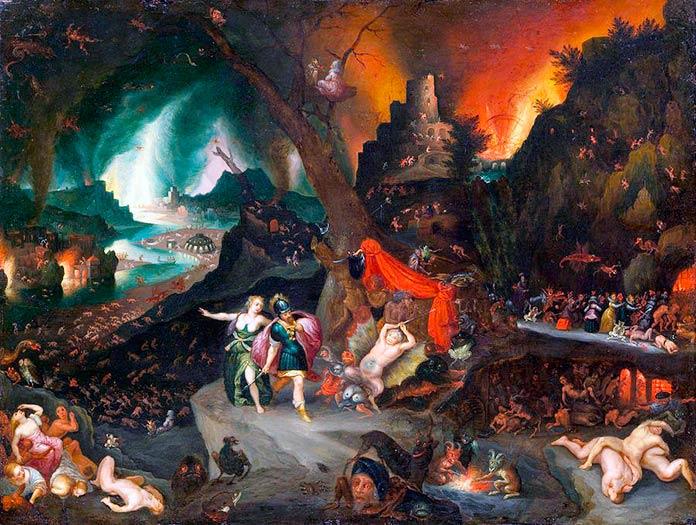 infierno mitologia romana