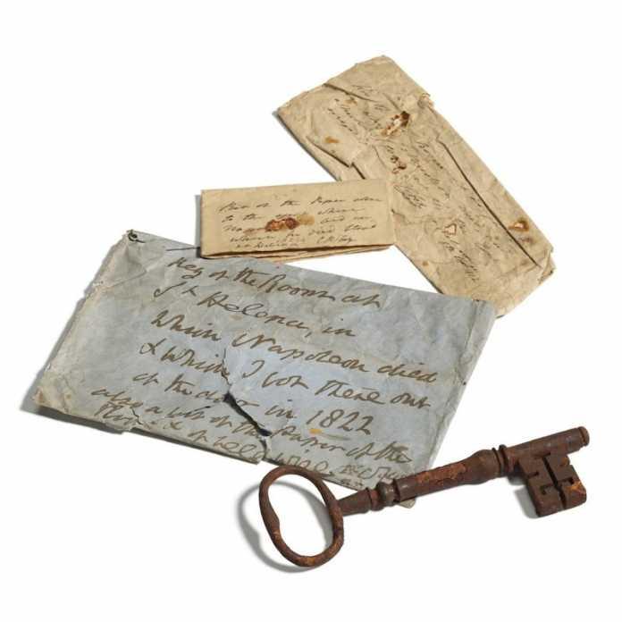 llave napoleon bonaparte exilio
