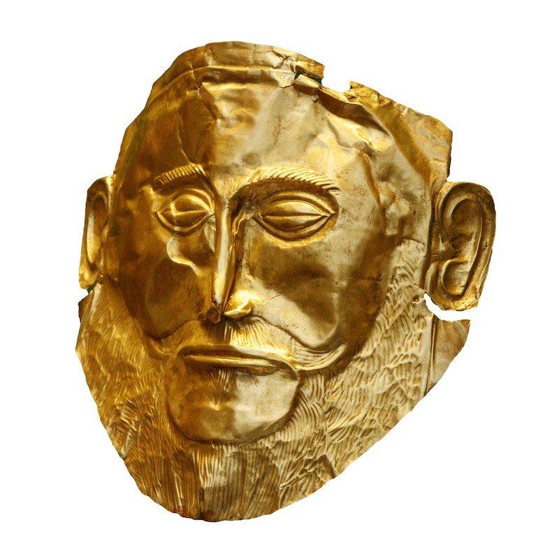 mascara funeraria agamenon