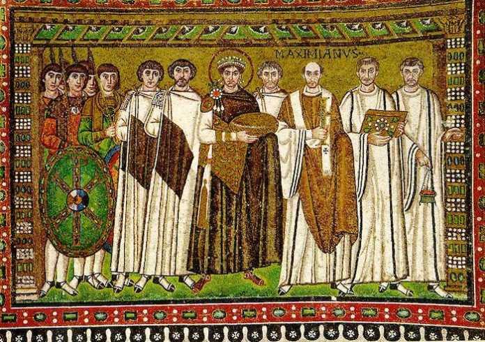 justiniano mosaico ravena