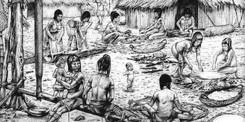 pobladores originarios caribe