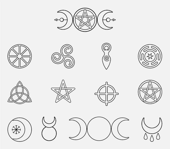 simbolos wiccanos y paganos