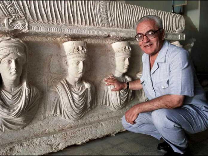 arqueologo khaled asaad