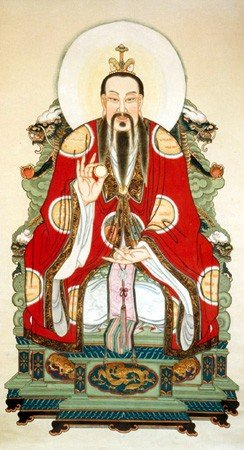Yuanshi Tianzun el puro de jade