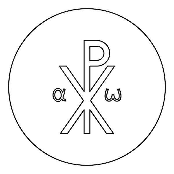 crismon simbolo precristiano
