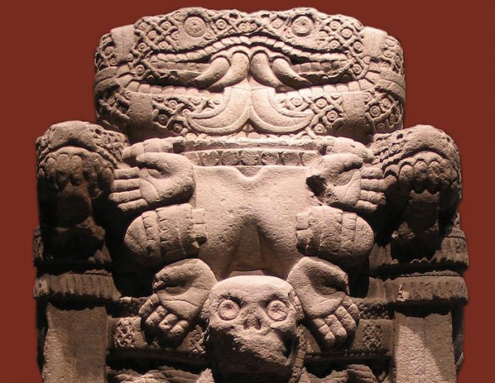 Coatlicue diosa madre azteca