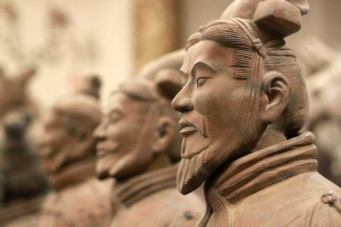 ejercito terracota china