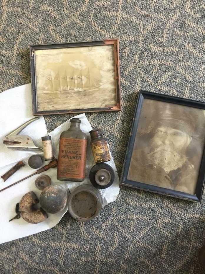 objetos encontrados en un sotano estados unidos