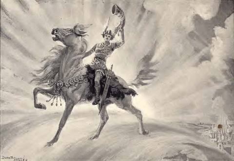 heimdal dios guardian mitologia nordica