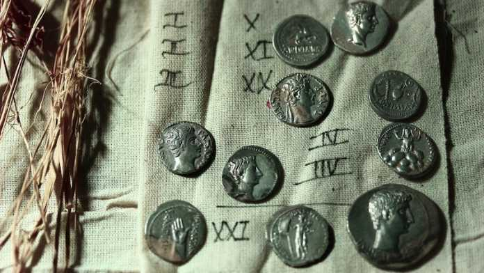 monedas epoca romana turquia
