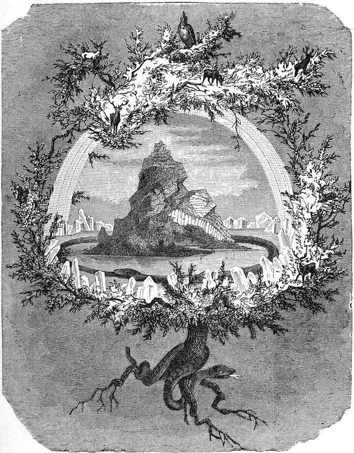 Yggdrasil mitologia nordica