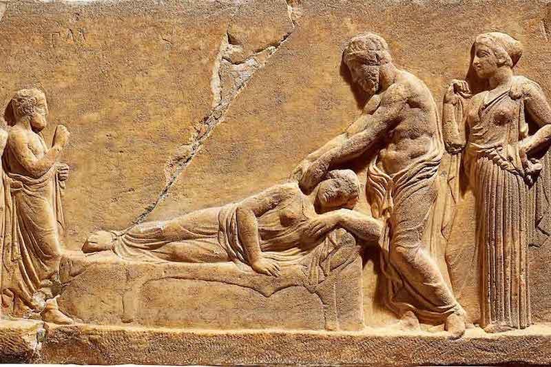 masaje antigua grecia