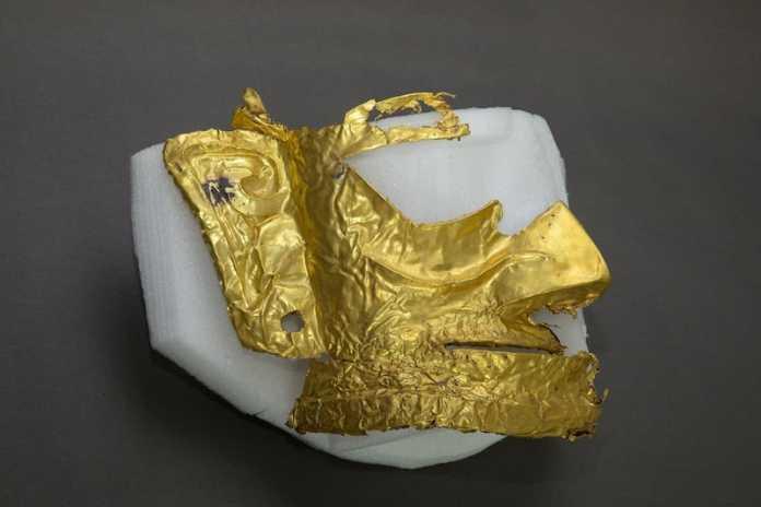 mascara oro sanxingdui
