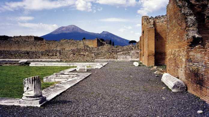 monte vesubio y pompeya