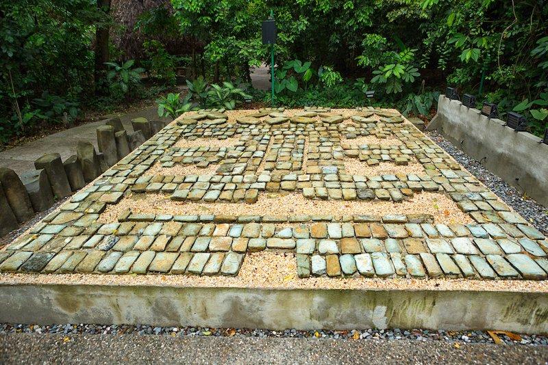 mosaico olmeca