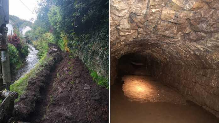 tunel subterraneo abadia reino unido