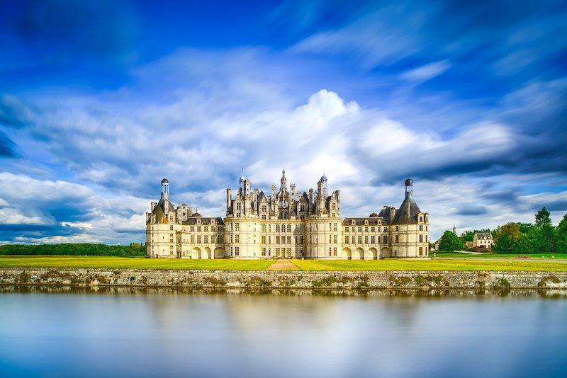 Castillo de Chambord valle del loira