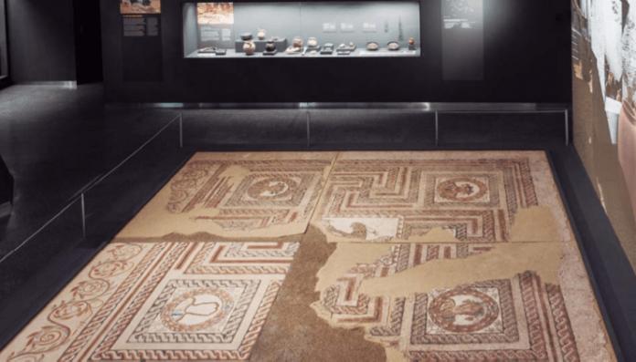 mosaico romano carabanchel