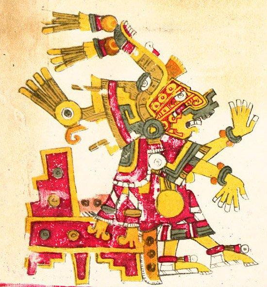 diosa azteca Xochiquetzal