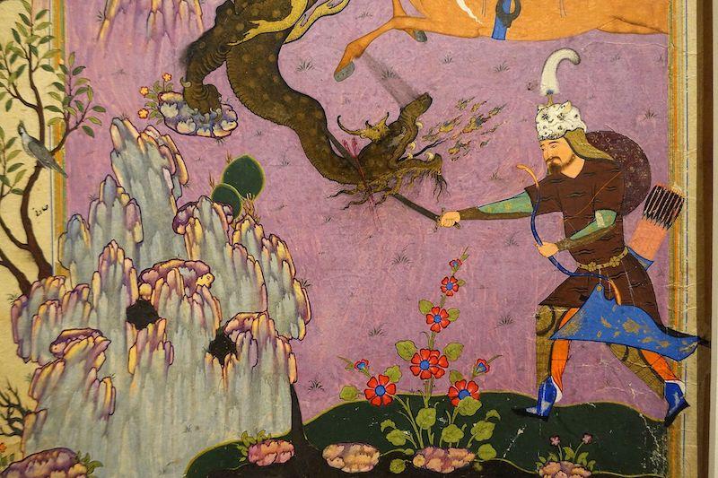 caracteristicas del arte persa