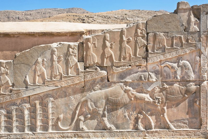 caracteristicas del imperio persa