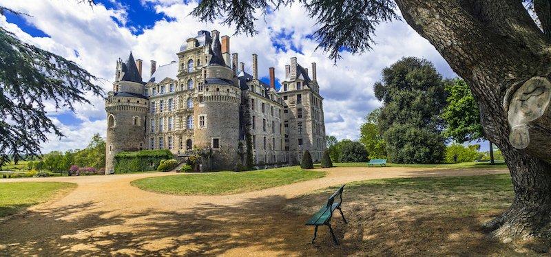 castillo de brissac valle del loira