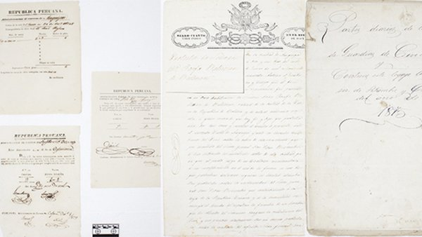 documentos siglo xix peru