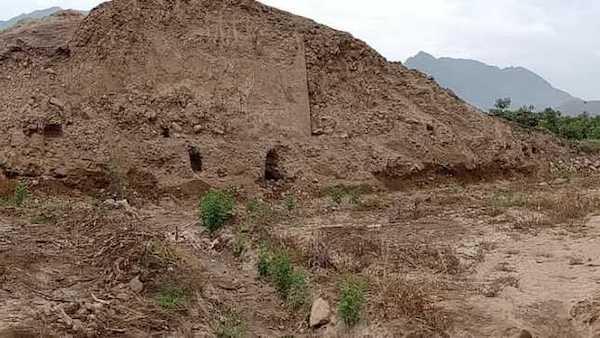 trabajos de conservacion Huaca Tomabal