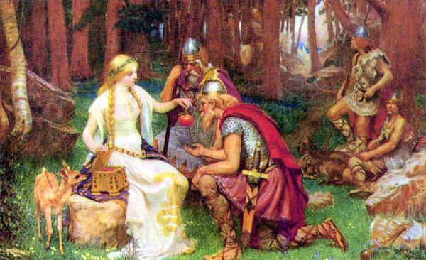 quien fue idunn en mitologia nordica