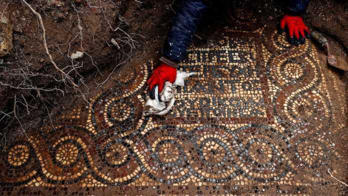 mosaico romano esmirna turquia