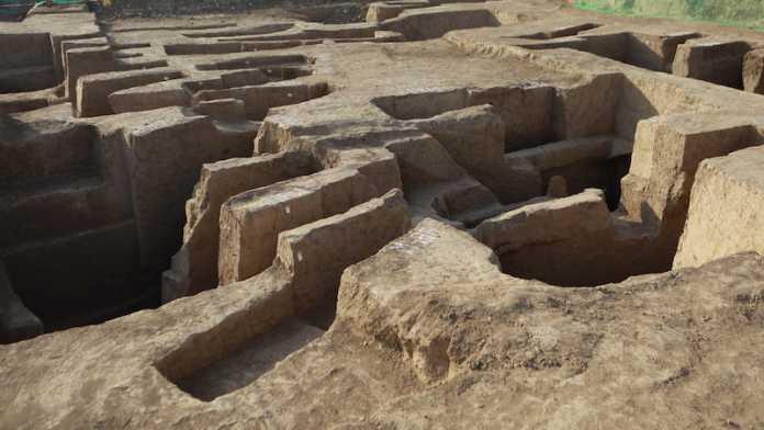 arqueologia china palacio dinastía Zhou Occidental