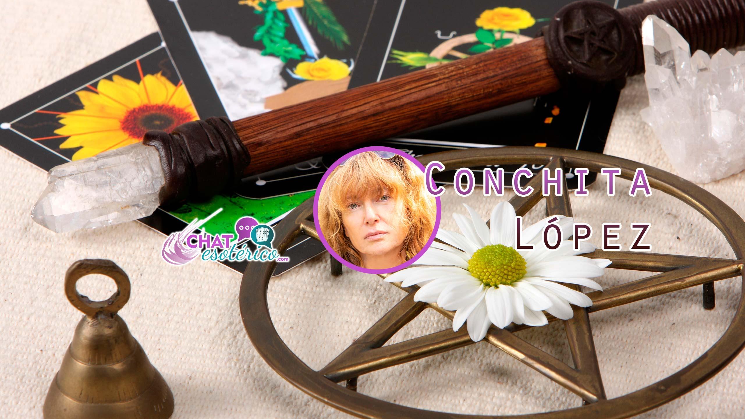 Consulta a Conchita López y descubre, porqué es la pitonisa más recomendada