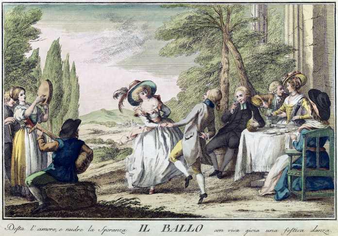 baile en la epoca moderna