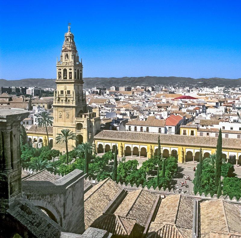 Campanario de la Mezquita de Córdoba