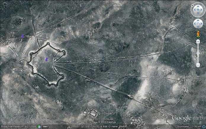 cometa del desierto trampa caza prehistoria