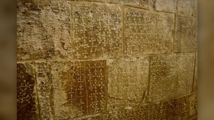 cruces talladas santo sepulcro israel