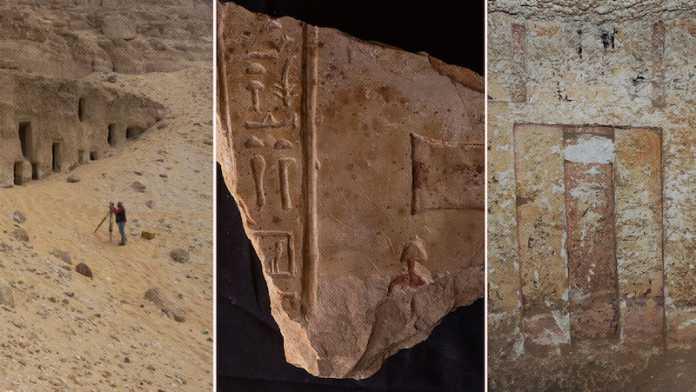 hallazgos 250 tumbas cueva egipto