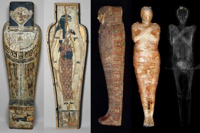 momia embarazada egipto