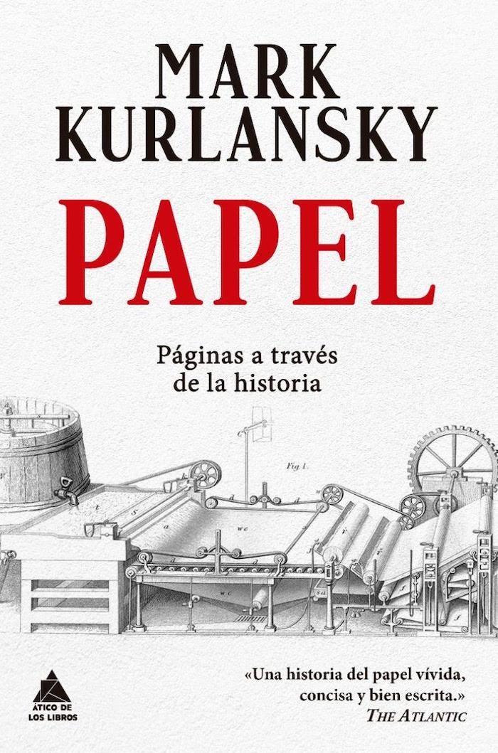 libro papel de mark kurlansky