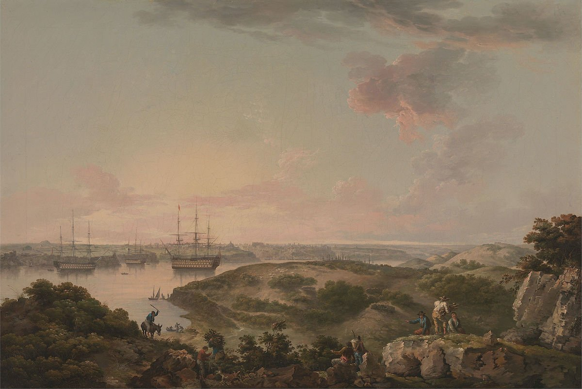 puerto de mahon 1795 britanico