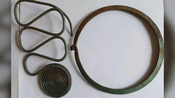 objetos edad bronce suecia