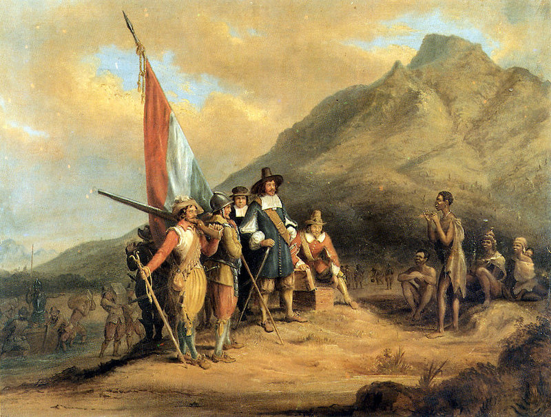 Jan van Riebeeck llega al sur de africa