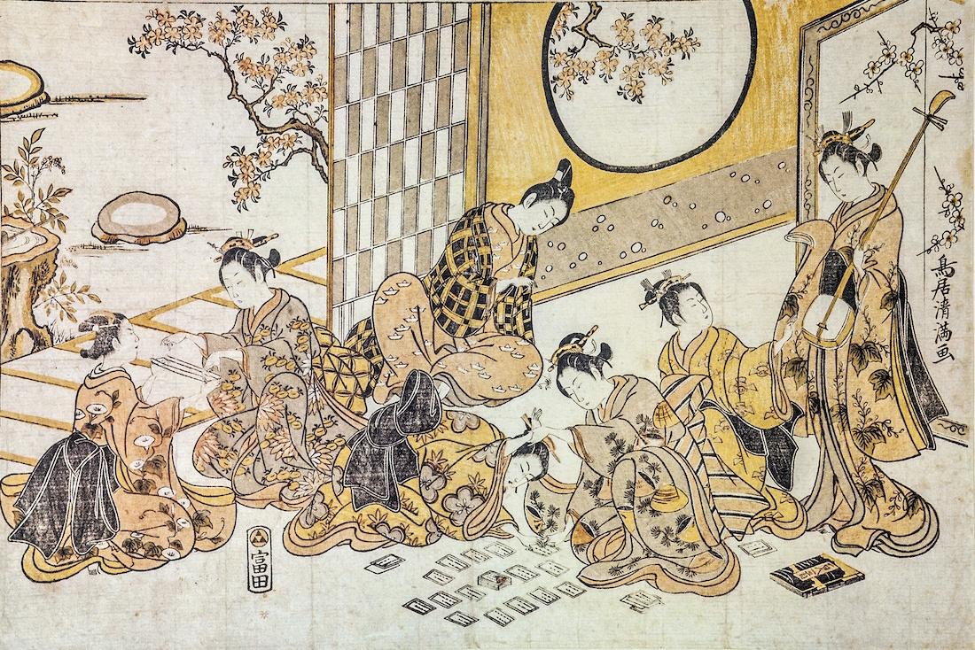 pintura ukiyo e japon