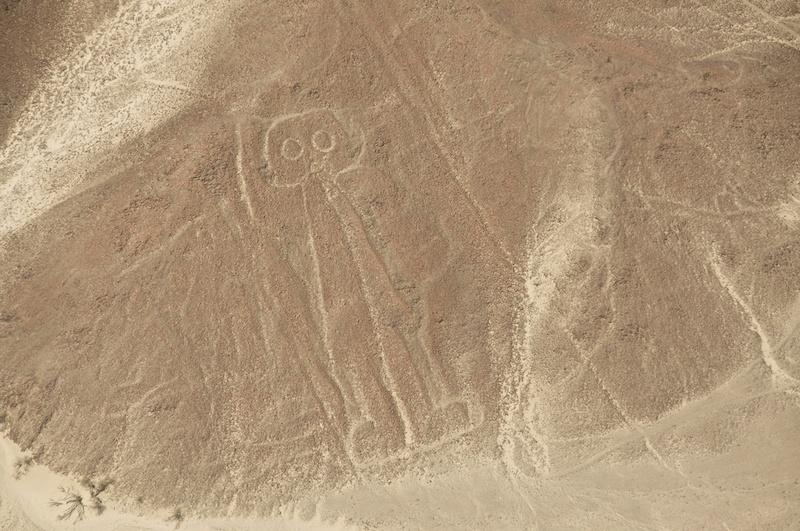 astronauta linea nazca