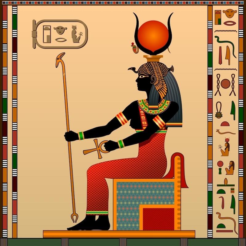 quien es hathor mitologia egipto