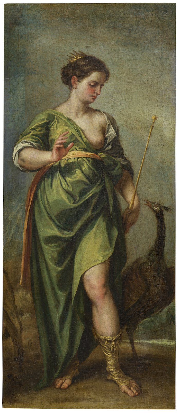 La diosa Juno. Alonso Cano. 1638-1651. Museo Nacional del Prado
